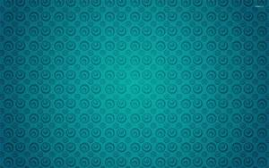 Turquoise circle pattern wallpaper - Abstract wallpapers ...