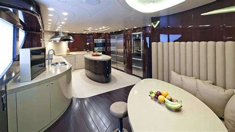 boat galley kitchen designs designing the ideal yacht galley boat international 4853