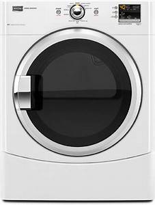 Maytag Mede200xw 27 Inch Electric Dryer With 6 7 Cu  Ft