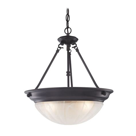 inverted bowl pendant light inverted bowl pendant light in bronze with three lights