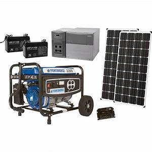 Strongway Complete Solar Power Package With Backup