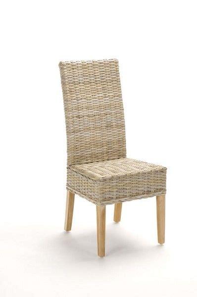 chaise en osier chaise rotin mobilier decotaime fr