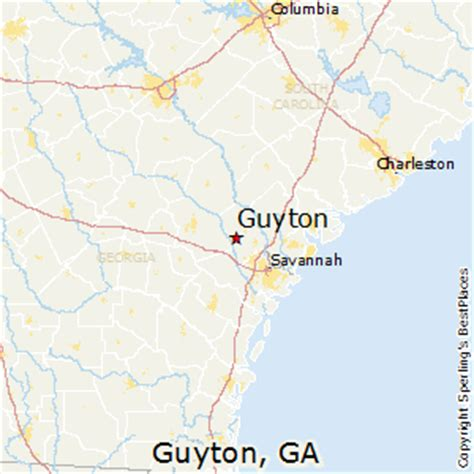 places    guyton georgia