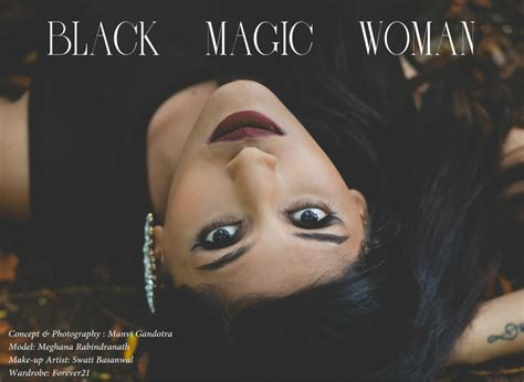 black magic woman style inked