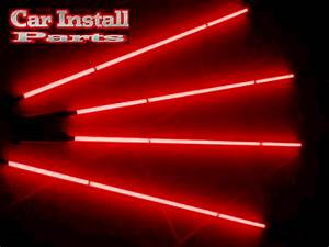 RED NEON UNDER CAR UNDERBODY LIGHT KITS NEONS