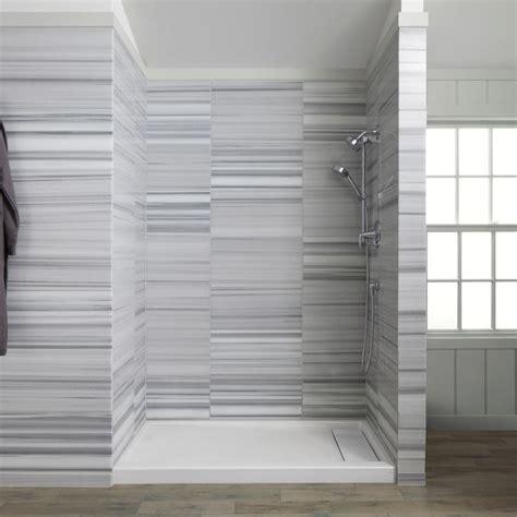 Bathroom, : Casual Modern White Grey Bathroom Decoration