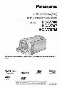Panasonic Hc-v707m Download Manual For Free Now