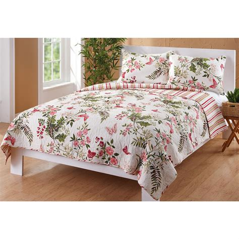 greenland home quilts greenland home 174 butterflies quilt and tote set 177816