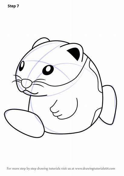 Kirby Draw Rick Step Drawing Tutorials Learn