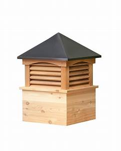 Amish made pine cupola with weathervane for Amish cupolas for sale