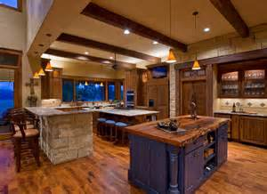 floor and decor san antonio ranch rustic kitchen by mccalla interiors