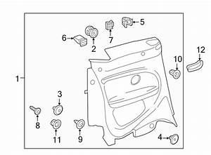 2013 Volkswagen Beetle Convertible Seat Belt Guide