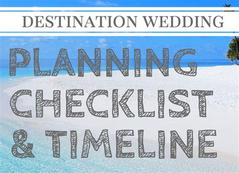 Team Wedding Blog Destination Wedding Planning Checklist