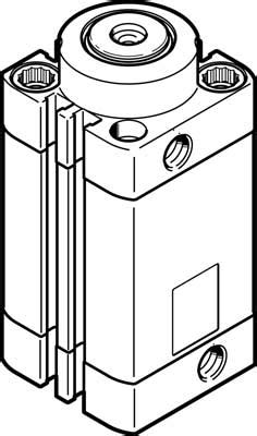 Festo DFSP-32-25-DF-PA 576110 | Festo Stopper Cylinders
