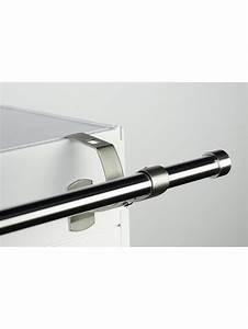 Support Douchette Sans Percer : support sans per age pour tringle rideaux 20mm noozika ~ Premium-room.com Idées de Décoration