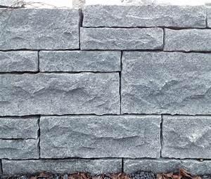 Granit Abdeckplatten Preis : rebmauerwerk aus black samoca atlas natursteine ~ Markanthonyermac.com Haus und Dekorationen