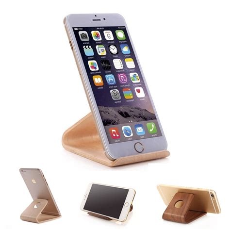 iphone holder wood stand holder for smartphone iphone or cell phone