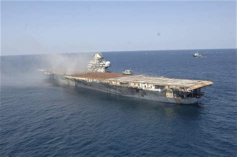 sinking of the aircraft carrier uss oriskany may 17 2006