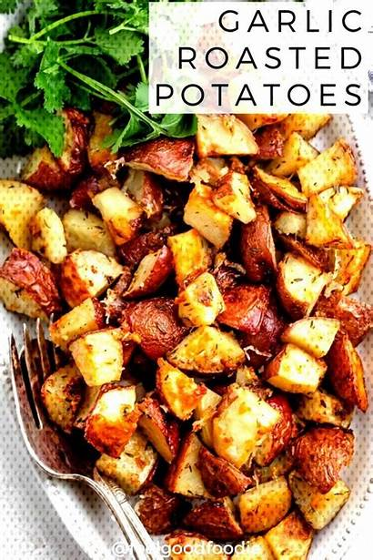 Perfectly Vegetables Potatoes Roasted Garlic Recipes