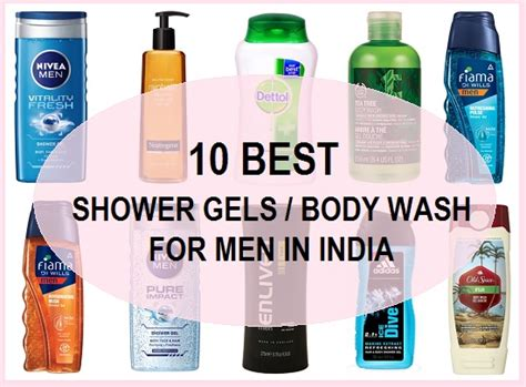 10 Best Body Wash And Shower Gel For Men In India