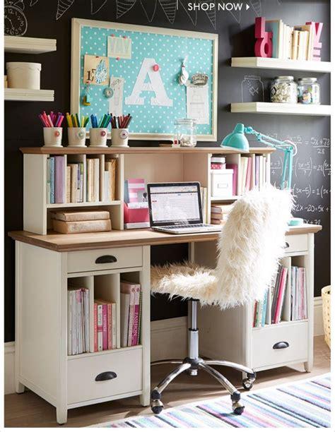 ideas  girl desk  pinterest teenage girl