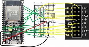 Matrix Wiring Diagram : esp32 with adafruit medium rgb matrix panel ebenfeld ~ A.2002-acura-tl-radio.info Haus und Dekorationen
