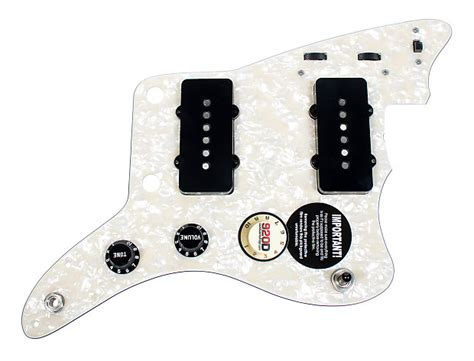 920d custom shop fender jazzmaster loaded pickguard seymour reverb