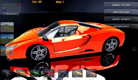 Crazy Multiplayer Stunt Racing Game