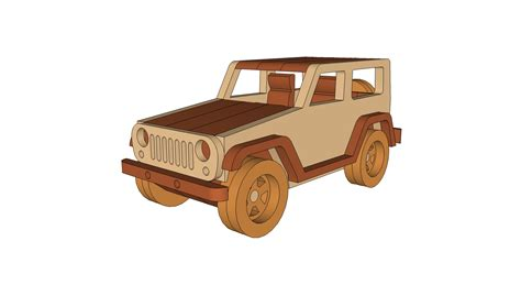 wooden jeep plans jeep wrangler plans dm idea