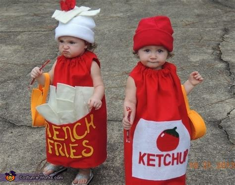 French Fries And Ketchup Halloween Costume