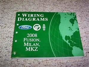 2008 Mercury Milan Electrical Wiring Diagram Manual I4