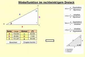 Kreis Winkel Berechnen : hypotenuse ich w rde gerne die grad eines ~ Themetempest.com Abrechnung