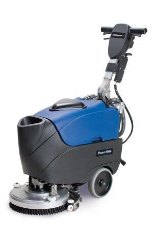 Powr Flite Floor Scrubber by Predator 14 Battery Automatic Scrubber Powr Flite
