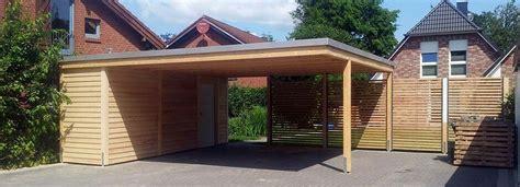 garage mit abstellraum carport flachdach holz carport fahrradgarage in 2019 carport garage pergola carport und