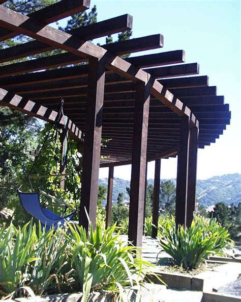 circular pergolas circular pergola residential landscapes garden design pinterest
