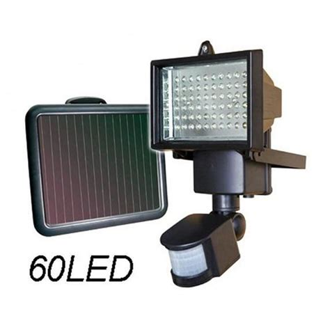 bright solar led flood light security garden light