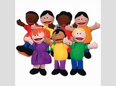 Kaplan Kids Puppets Set of 7