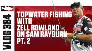 Zell Rowland Fishing the New Booyah Zell Rowland Prank ...