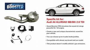 Sound Booster Pro Installed At Audi A4 Allroad  B8  8k  2 0