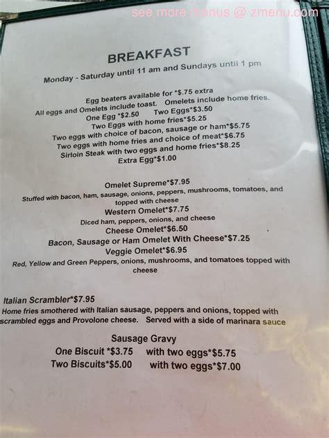 menu   corner kitchen restaurant mercer