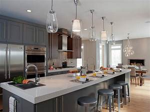Kitchen island pendant lighting design : Photos hgtv