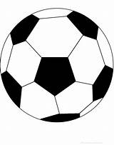 Soccer Ball Printable Coloring Balls Colouring Pages Clipart Football Sports Template Outline Worksheet Cliparts Enchantedlearning Poem Perimeter Sheet Clip Soccerball sketch template