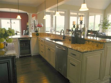 House Kitchen Breakfast Room And Deck by Forever Decorating New House Tour Kitchen