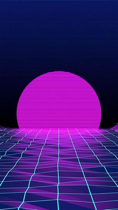 Neon 80s Iphone Wallpapers Wallpaperplay Walls