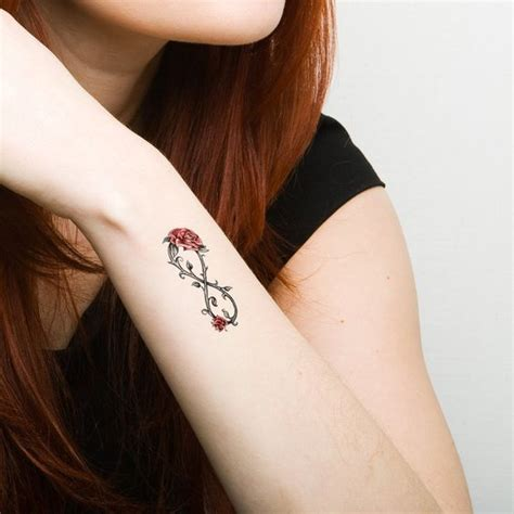infinity rose tattoos tattoos infinity tattoos