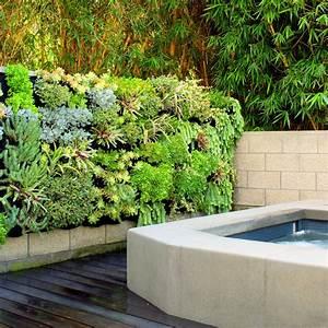 Succulent Spa Vertical Garden — Florafelt Vertical Garden ...