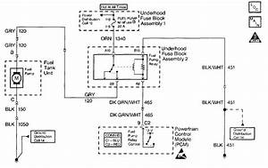 2000 Camaro Fuel Pump Wiring Diagram
