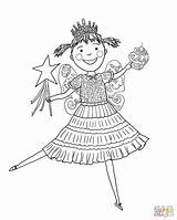 Pinkalicious Coloring Pages Pink Cupcakes Printable Cupcake Drawing Supercoloring Amelia Bedelia Birthday Crafts Peterrific Printables Colouring Characters Preschool Ballerina Paper sketch template