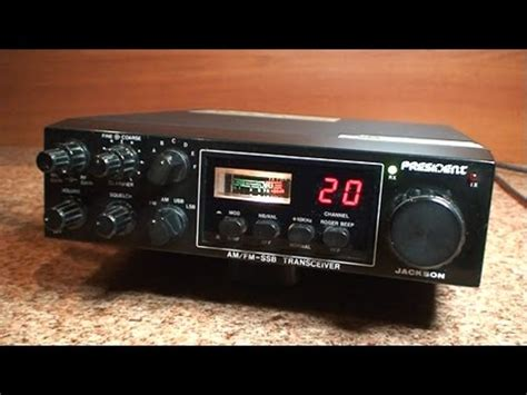 Modification Cb President Jackson by Tuning Repair Cb Radio Ssb President Jackson Alinco Dr