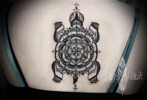 turtle mandala  tattoo tattoos pinterest turtle